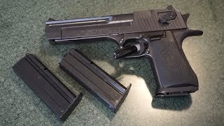 Desert Eagle .357 Magnum Tabletop Review