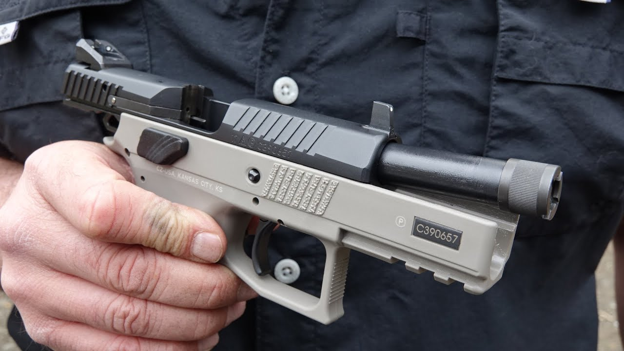 Glock 45 DPM Systems Recoil Reduction System