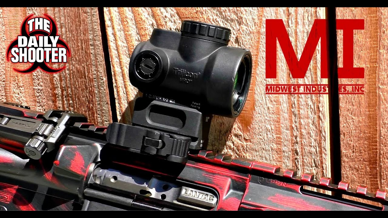 Midwest Industries QD Mount Review for Trijicon MRO Red Dot Optic