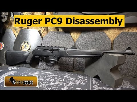 How To Disassemble the Ruger PC9 Carbine
