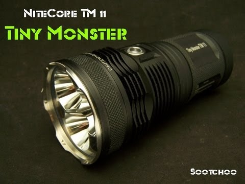 Tiny Monster TM 11 NiteCore  Flashlight 2000 Lumens!