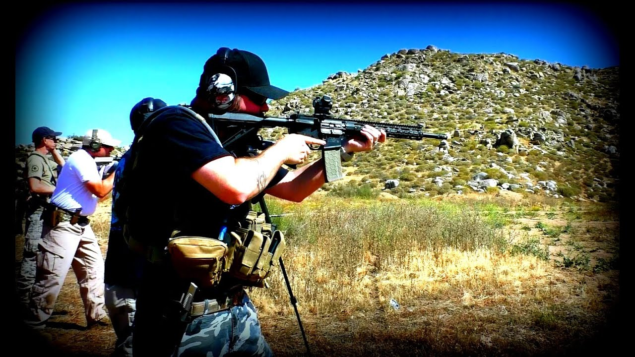 AR15 Build First Shots and 2A Shoot footage