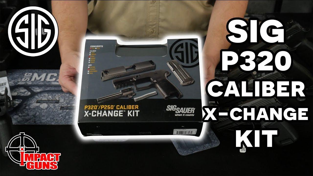 Sig P320 Caliber X-Change Kit and Installation  #344
