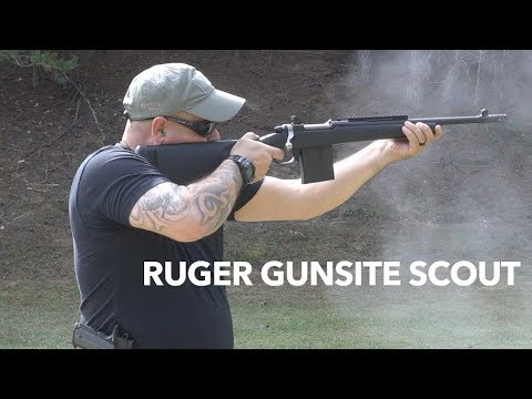 Ruger Gunsite Scout UnBoxing, On the Range and New Sponsor Boyds Gunstocks