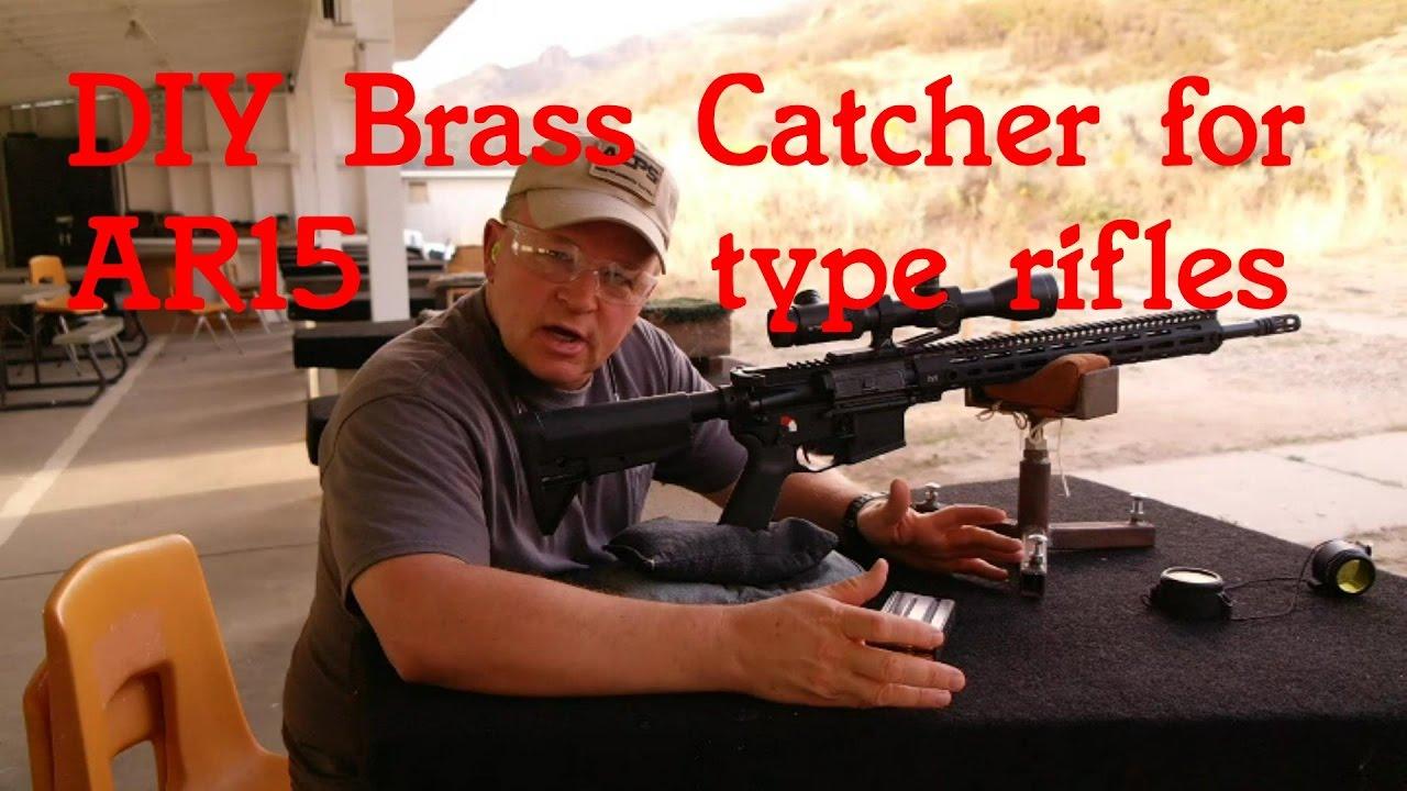 DIY Brass Catcher for AR15 type rifles