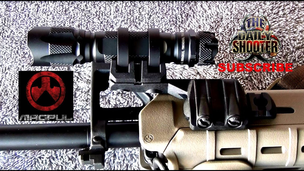 Magpul Light Rail Mount Review M&P 15 Sport