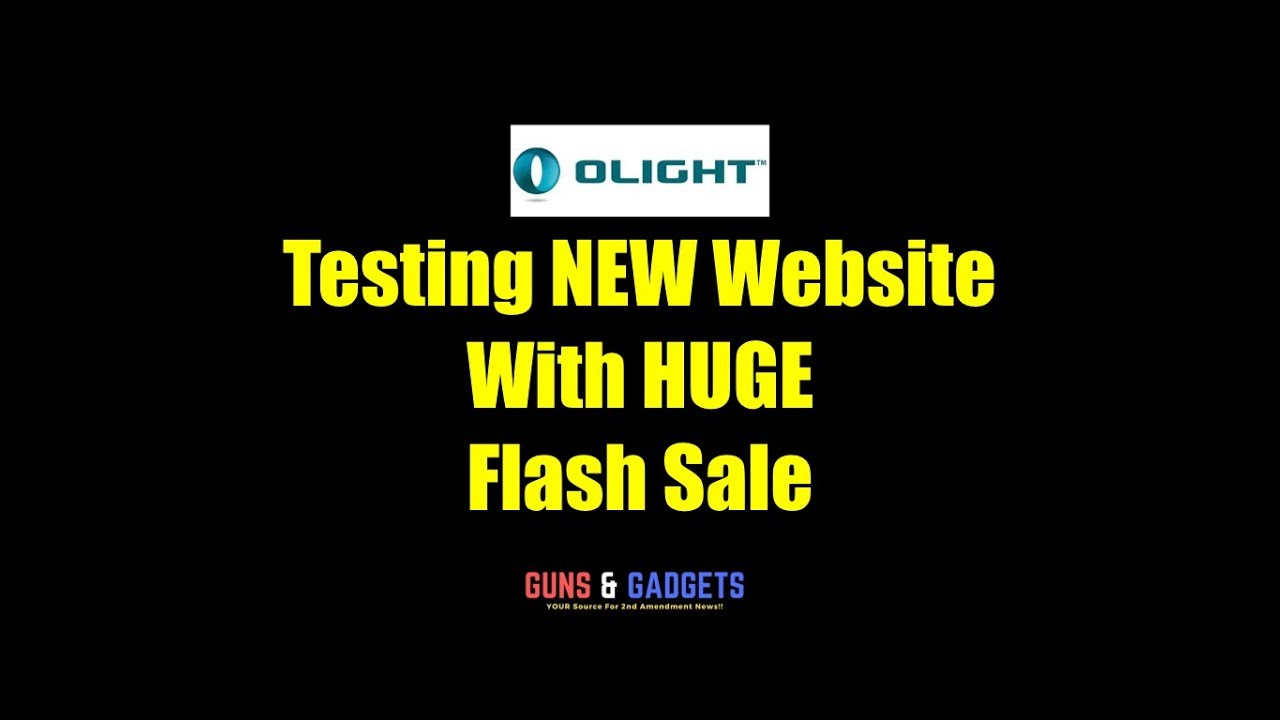 Olight Testing NEW Website With HUGE Flash Sale (4/19/19)