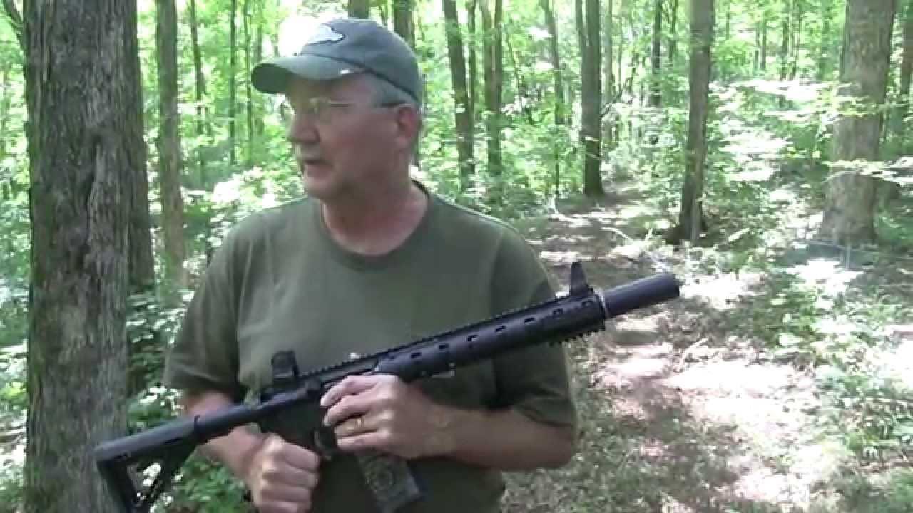 Daniel Defense 300 Blackout Suppressed  Woods Walk
