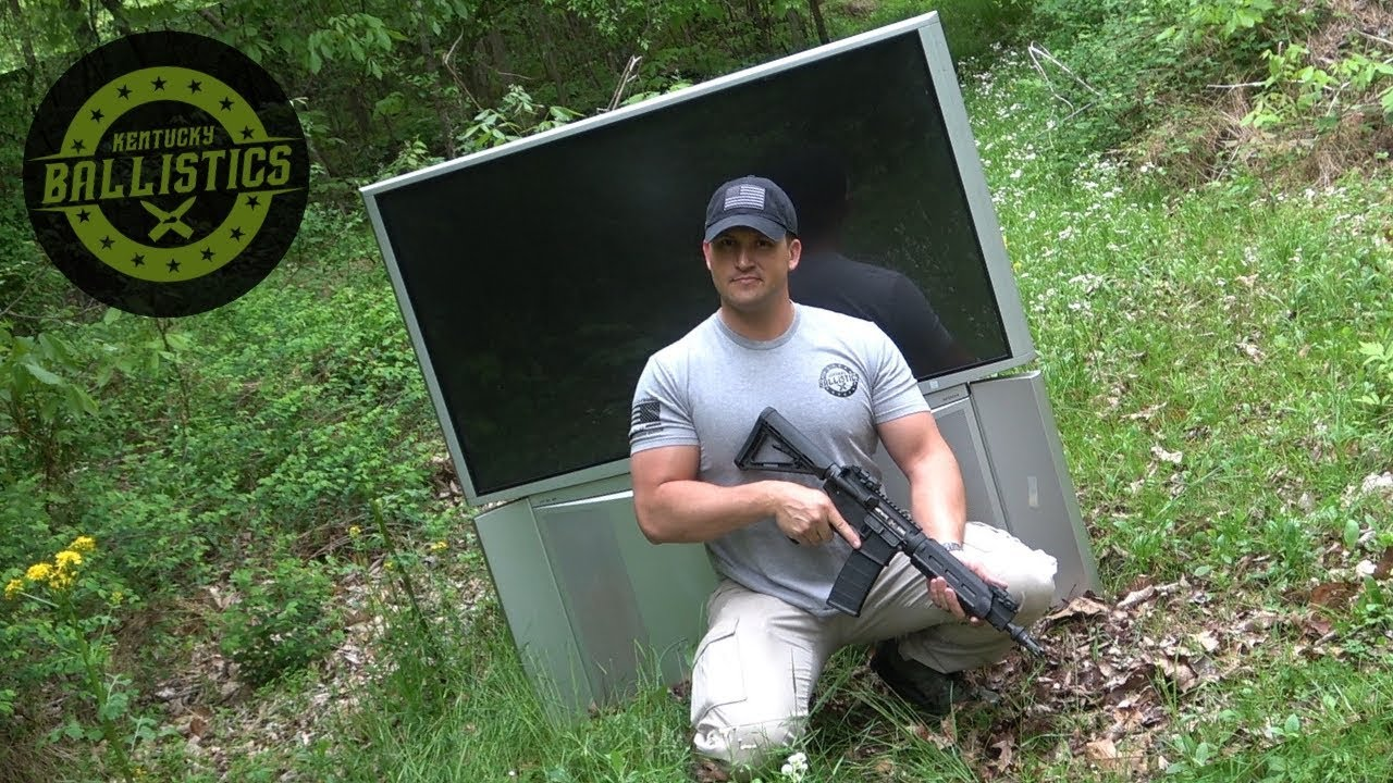 Full Auto Friday! AR-15 vs Big Screen TV! 📺