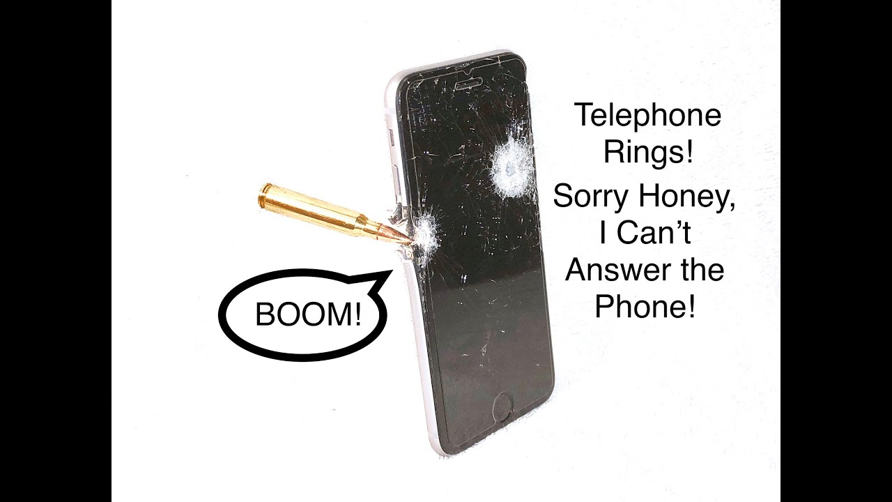 (Hilarious) iPhone 6s vs Daniel Defense MK18 ?