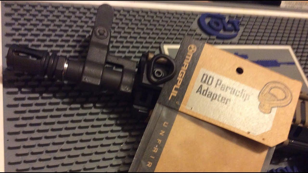 Magpul QD Paraclip Adapter   Colt LE6945 Mk18 AR Pistol Project