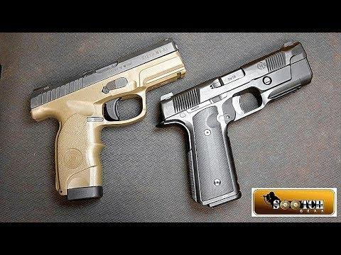 Hudson H9 vs Steyr M9A1 Pistol