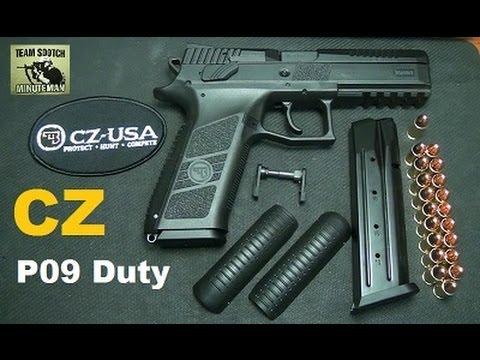 CZ P09 Duty Model Polymer Frame