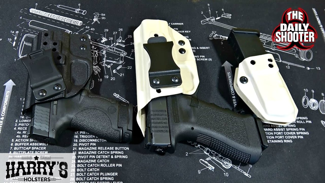 Harry's Holsters for S&W M&P Shield 9mm Review