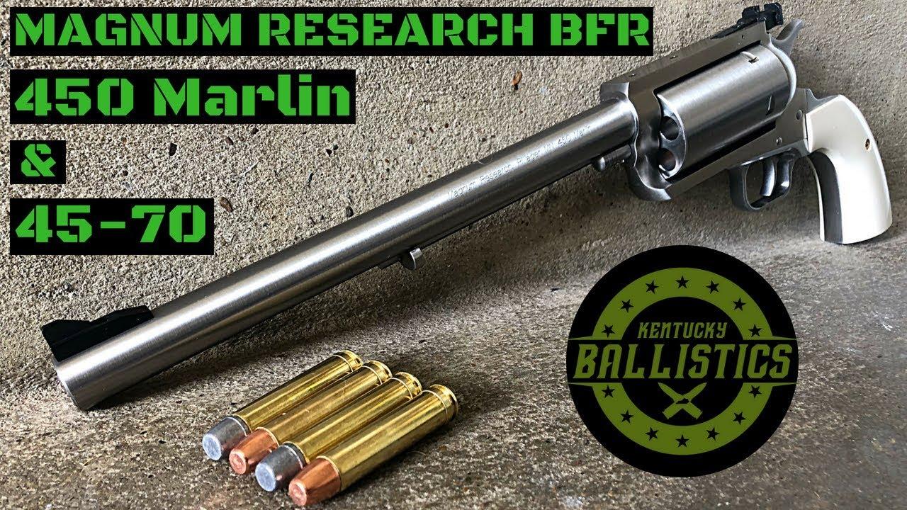 Magnum Research BFR 450 Marlin & 45-70 Revolver