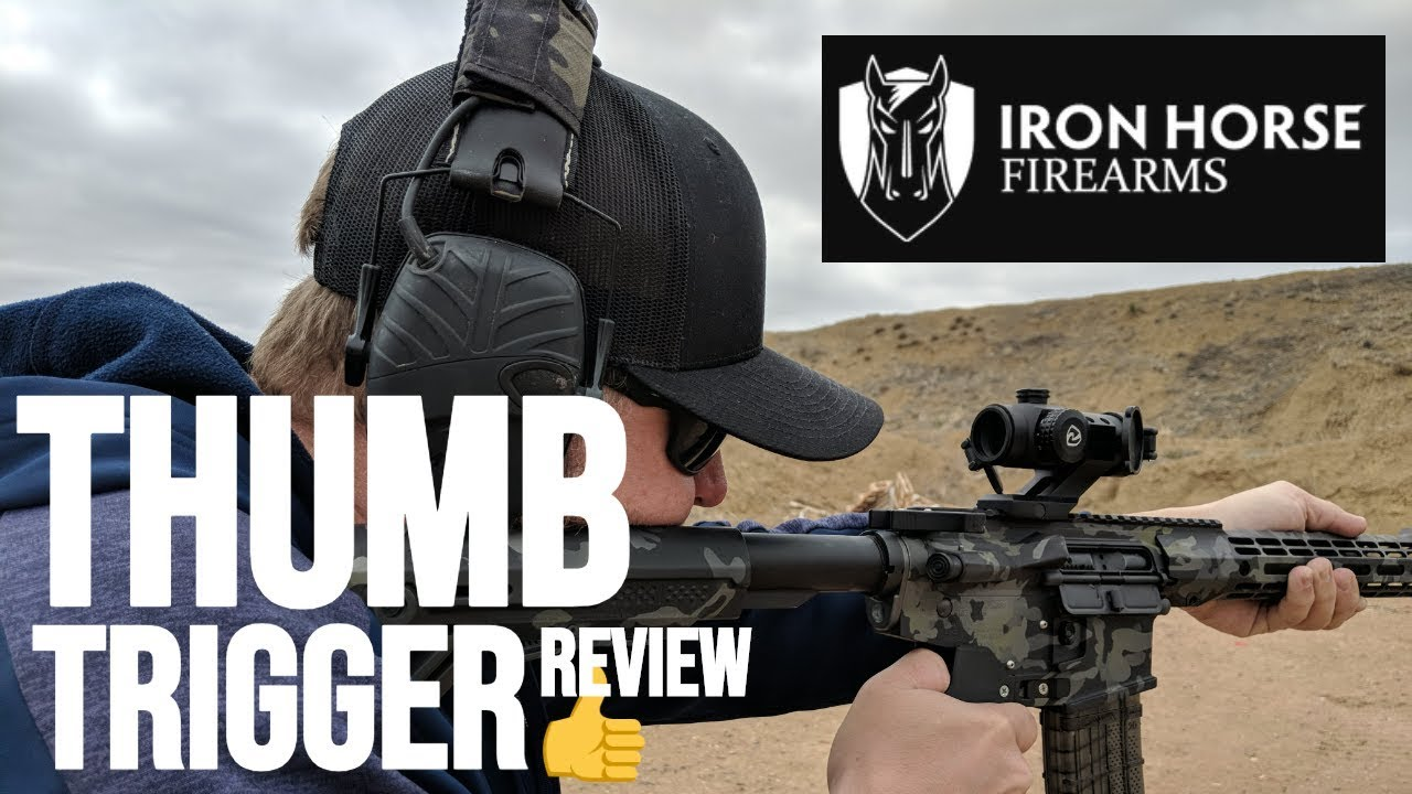 EXCLUSIVE! Iron Horse Firearms TOR 1 Review - Thumb Operated Receiver