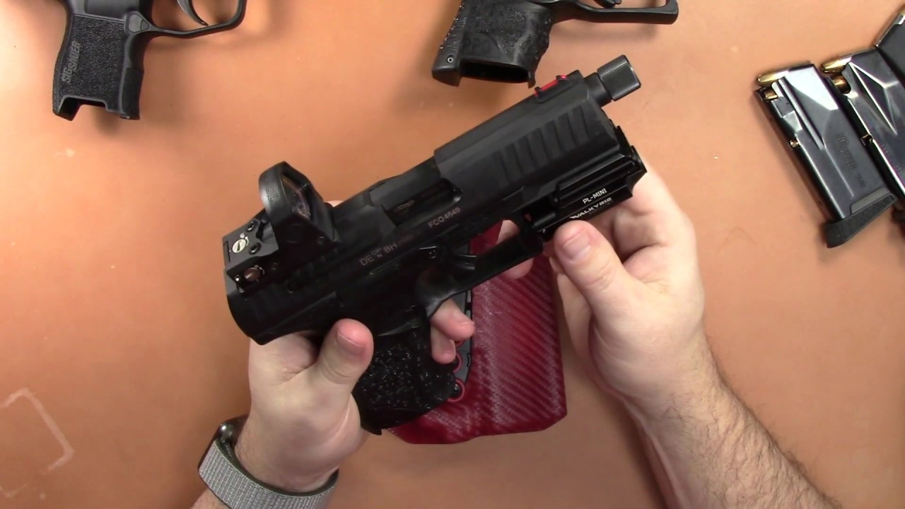 MIE Productions PPQ Olight PL Mini Holster Review