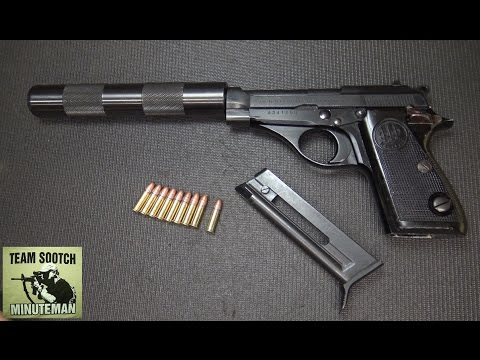 CAI Beretta Model 71 22LR Pistol Review