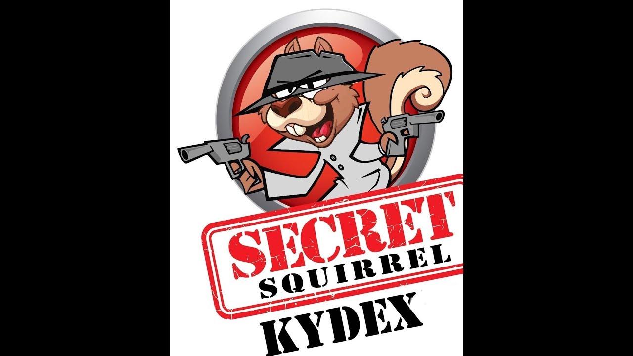 Secret Squirrel Kydex Glock 19 Holster Review