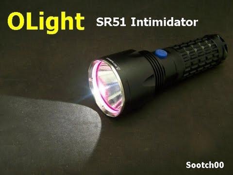 Olight SR51 Intimidator Flashlight