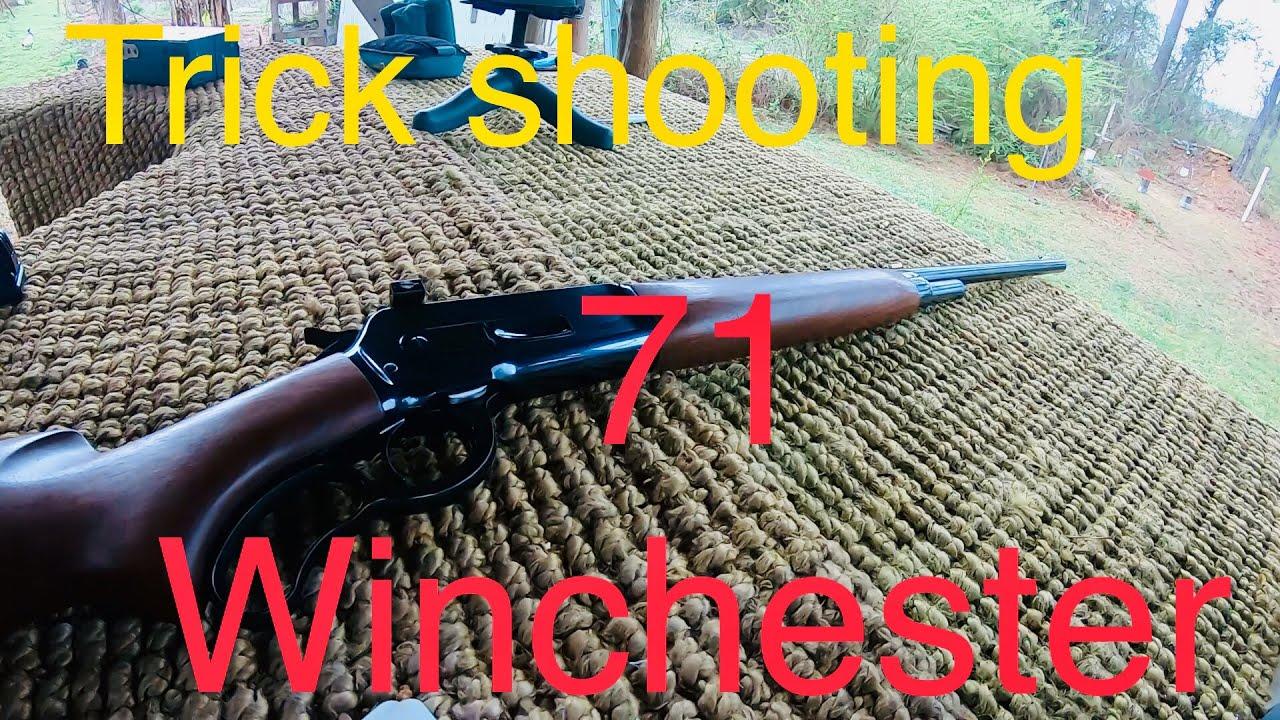 Winchester model 71 in 348 caliber