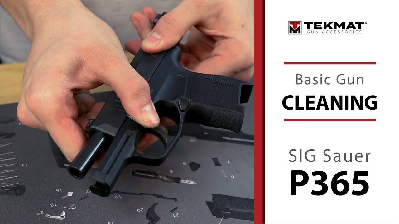 SIG P365 | Basic Gun Cleaning