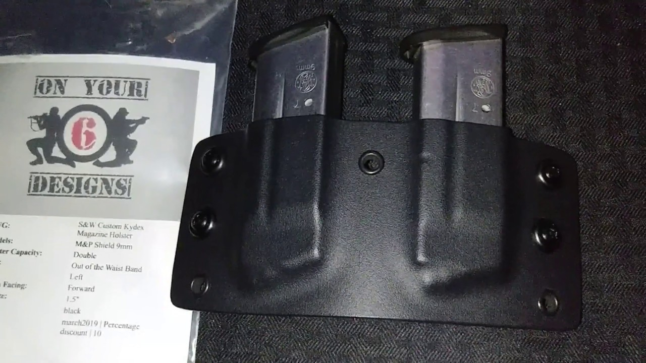 On Your 6 Designs double magazine holster unboxing