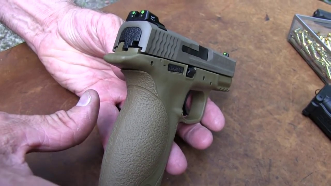 Smith & Wesson  M&P VTAC 9mm