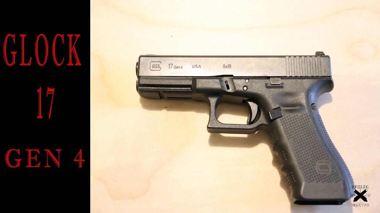 Glock 17 Gen 4 - The Utilitarian Handgun!