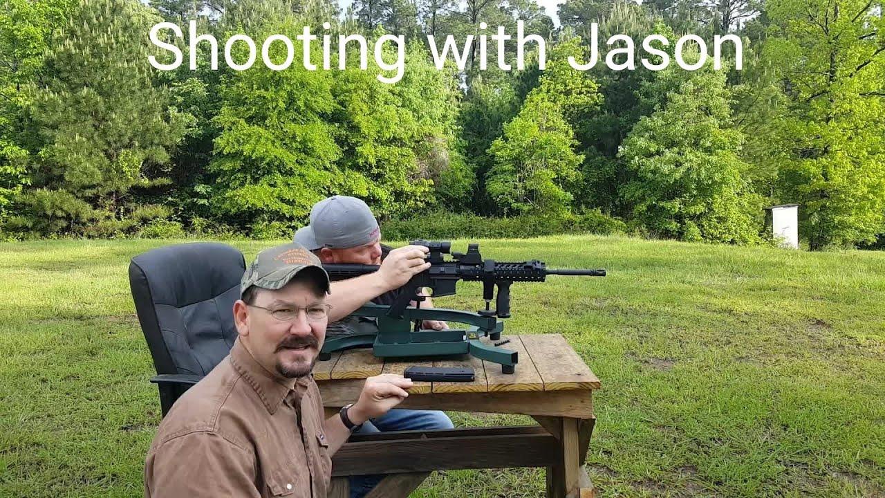 Shooting with Jason 🇺🇸