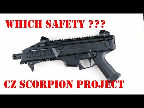 CZ Scorpion EVO safety selector - which one??