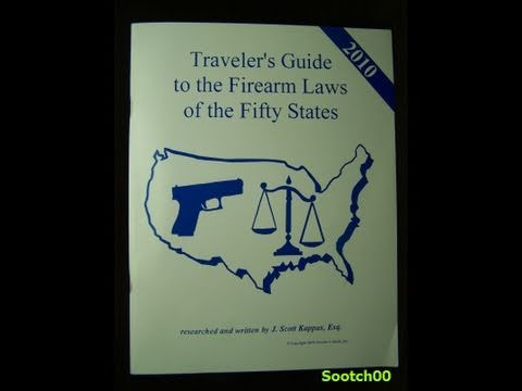Traveler's Guide to the Firearms Laws of the 50 States