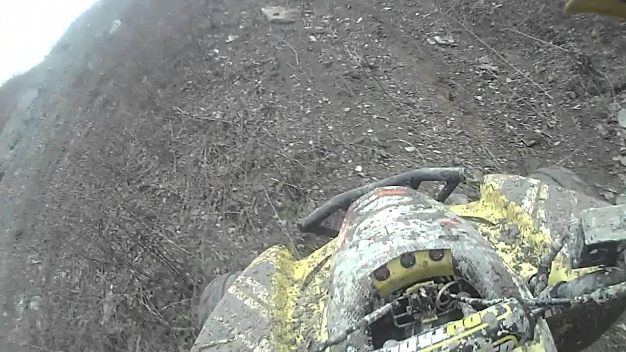 [HILLCLIMB OHIO] Hillclimbing and riding at Hillsville, PA 11-30-14
