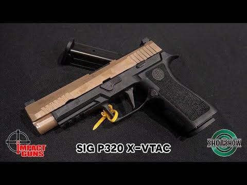 Sig Sauer P320 X-VTAC - SHOT Show 2019