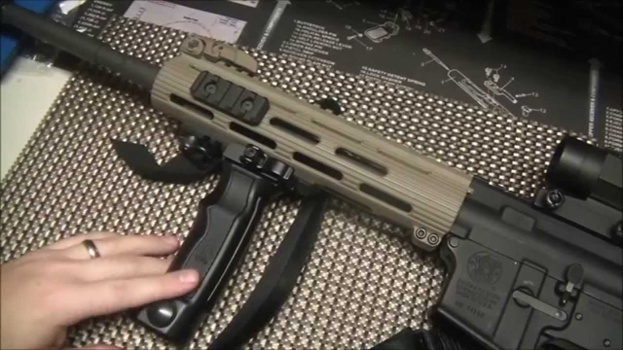 UTG D Grip (Quick Release Bipod Grip) Overview