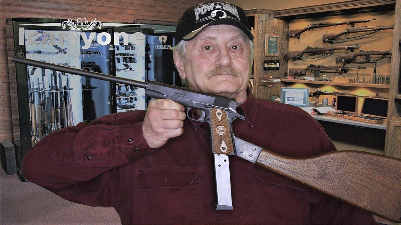 Iver Johnson 1911 Carbine - Update