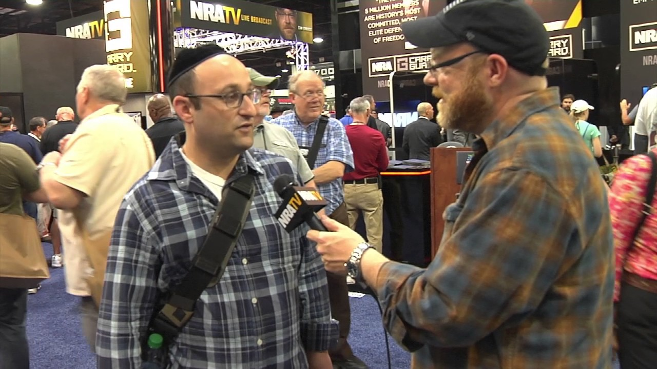 Yehuda Remer at the NRA Convention