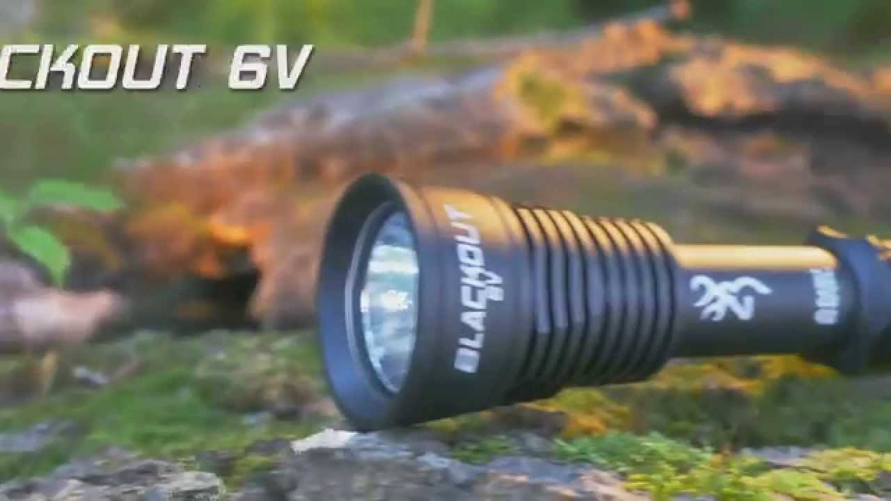 Browning Blackout 6V Flashlight V2