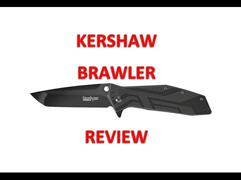 KERSHAW BRAWLER Safe assist opening knife review