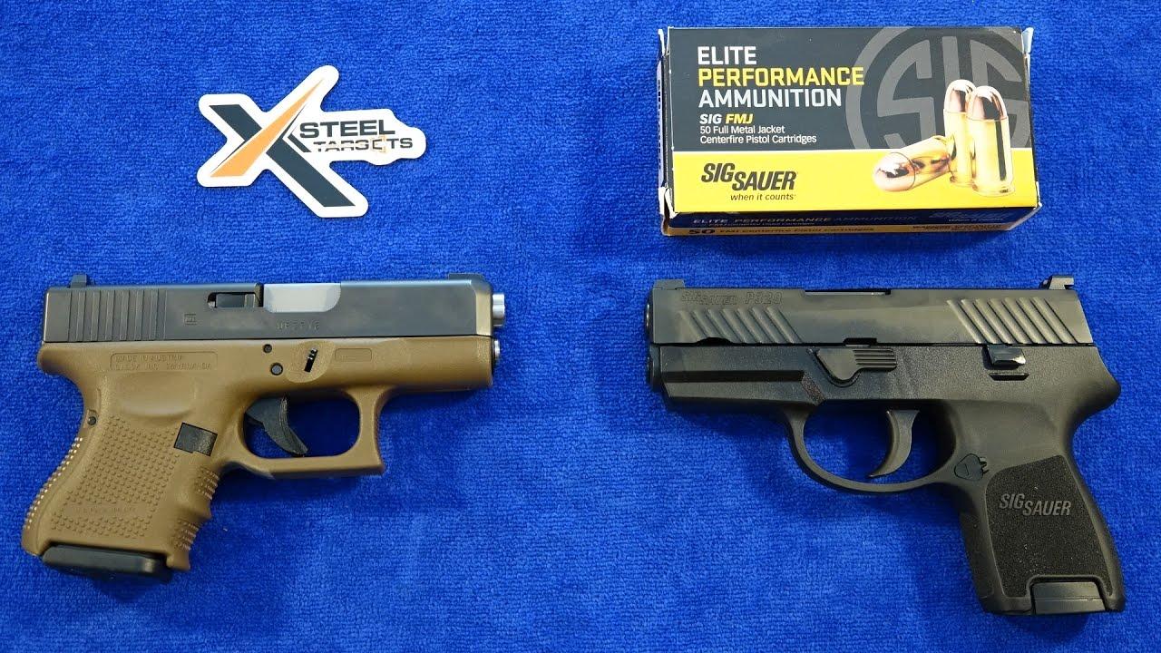 SIG Sauer P320 Sub Compact vs Glock 26 Gen 4