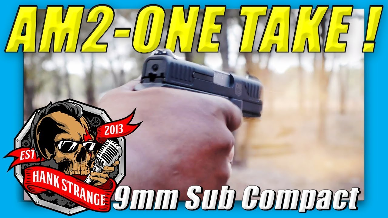AM2 Sub Compact 9mm Diamondback // IN THE WILD (Raw Footage)