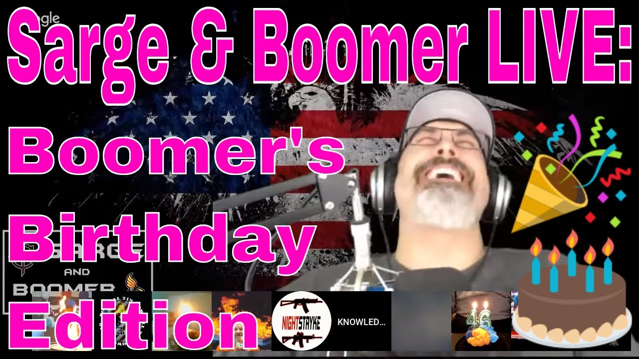 Sarge & Boomer LIVE | SHOT Show Swag Pack GIVEAWAY