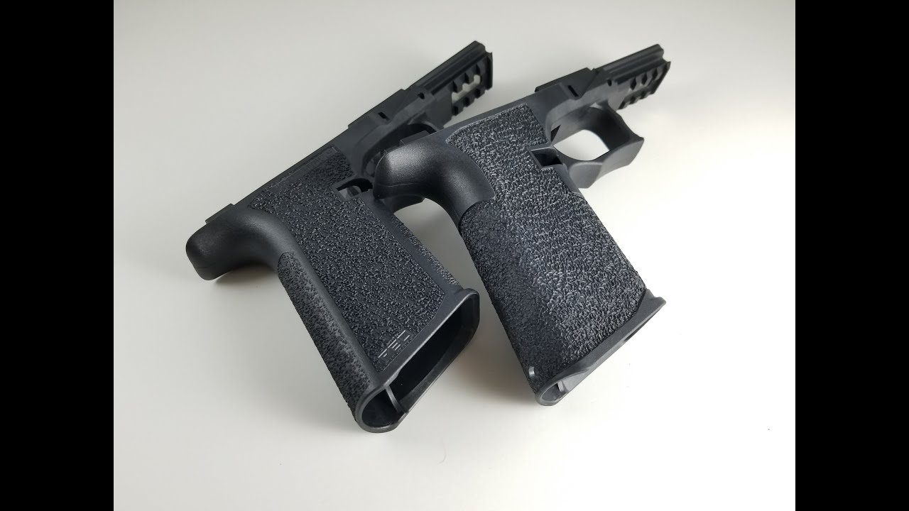 How to: Deep borders & Stippling Polymer80 PF940V2