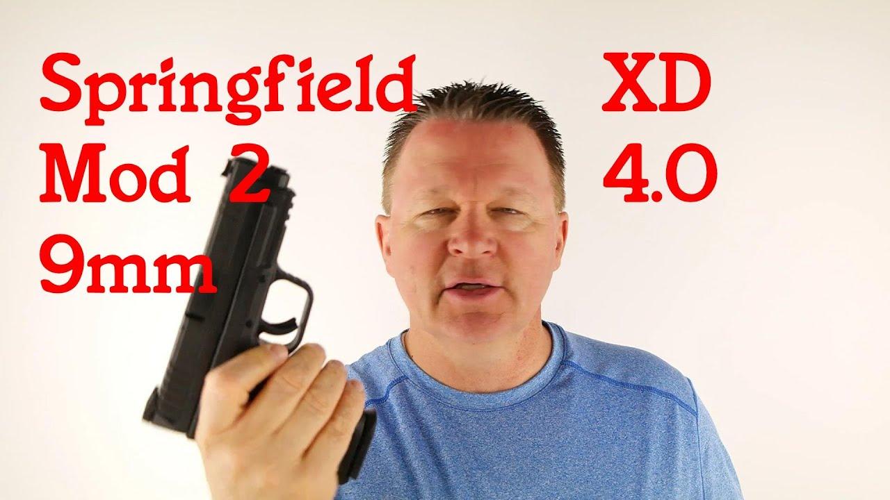 XD9 Mod 2 4.0 9mm handgun