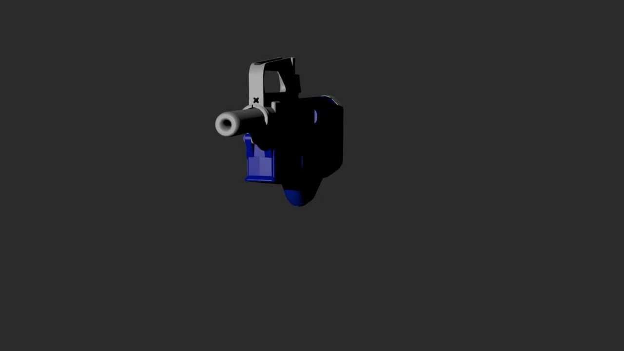 Defcad (Incomplete Concept) The Biden .410 Liberator Style Shotgun