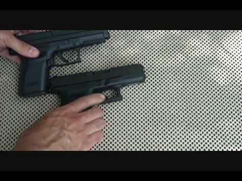 XD 45 ACP Compact vs Glock Model 30 Pistol