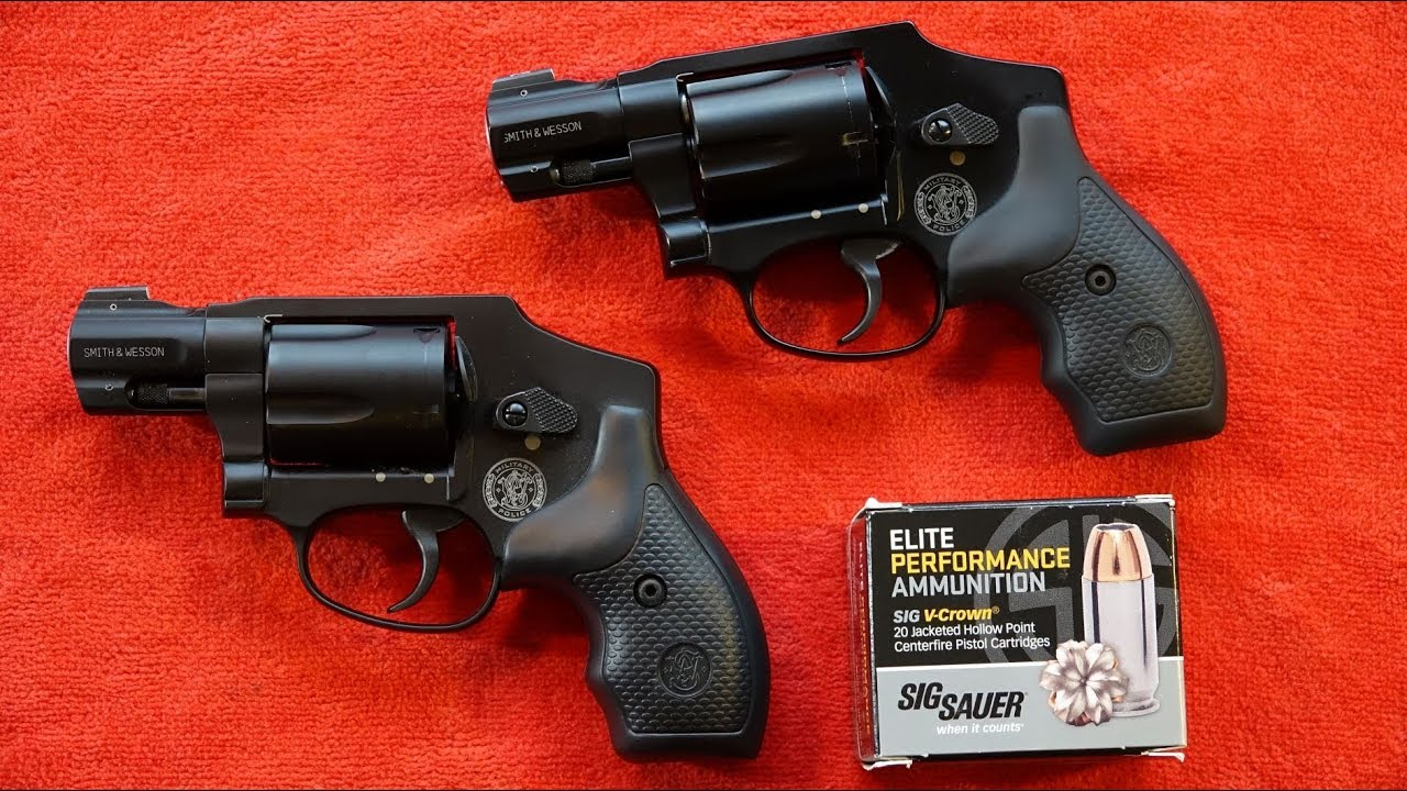 Smith & Wesson M&P340 Review