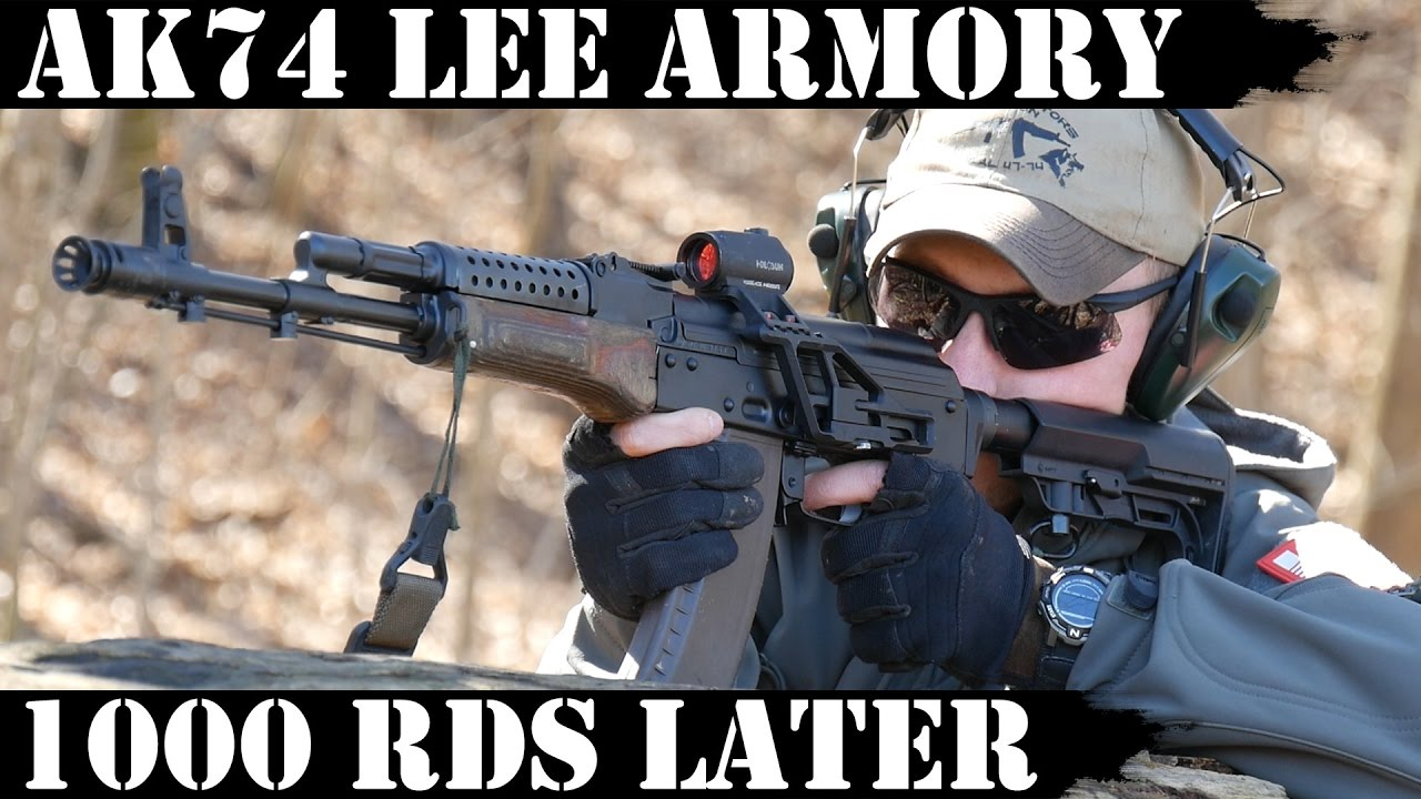 AK74 by Lee Armory: 1000rds Later!