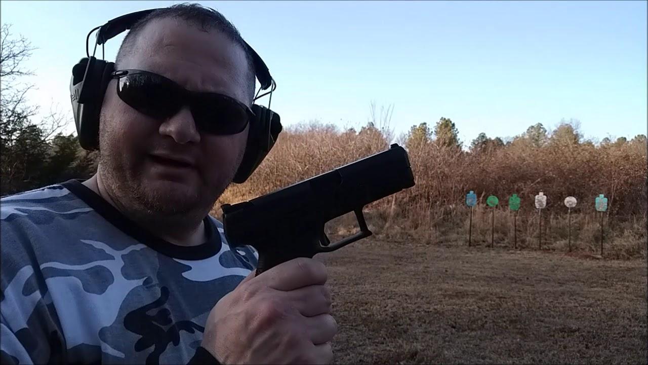 CZ P10C, P07 tactical, & M&P 2.0C 9mm shootout! Part One