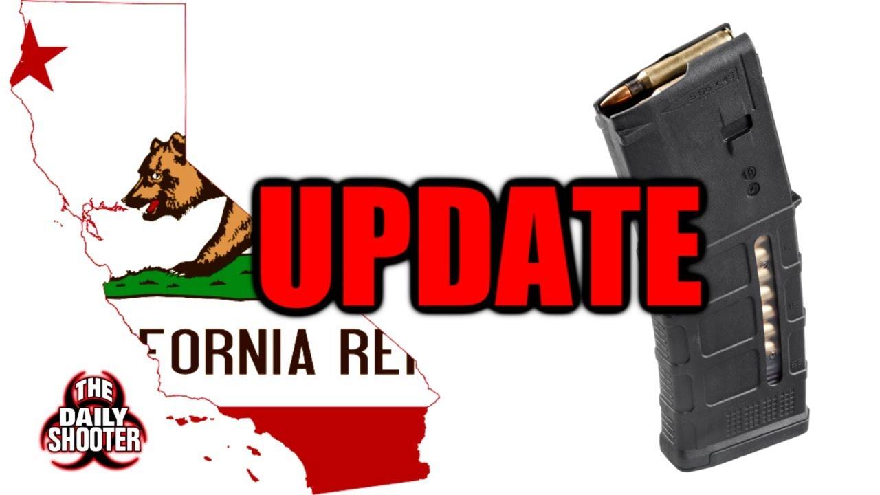 California High Cap Mag Update!